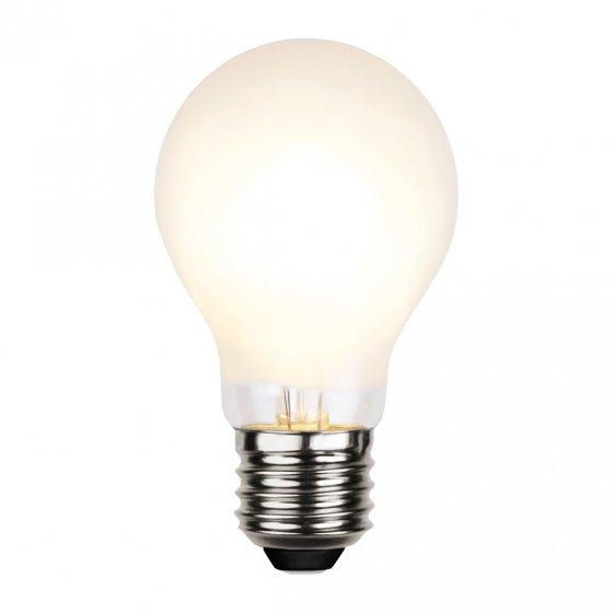 LED-pære E27 varmhvit
