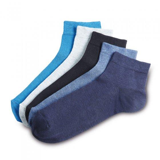 Korte sokker 5-pakning