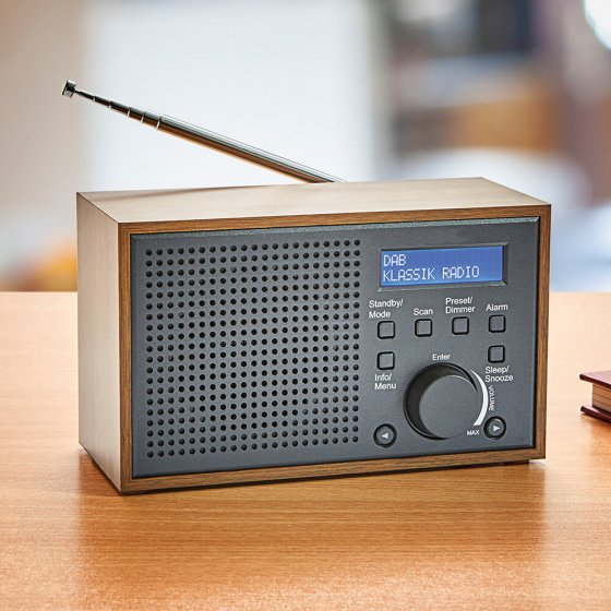 DAB + retro-kompaktradio