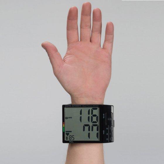 Blodtrykksmåler med stor skjerm