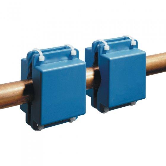 Magnetfeltgenerator for rørledninger i sett med to