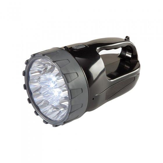 Ladbar lyskaster med 18 LED-er