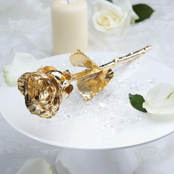 Forgylt rose