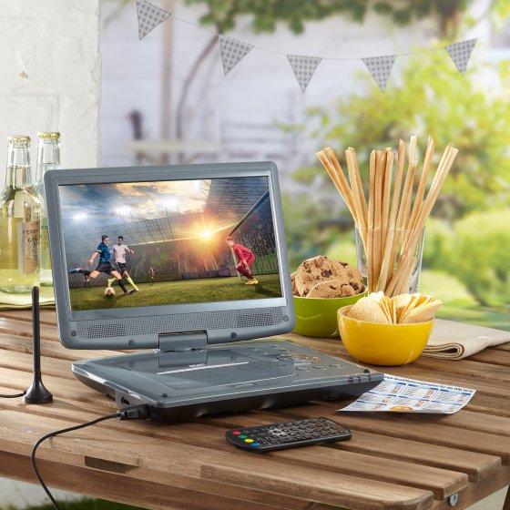 Mobil DVD og DVB-T2 spiller
