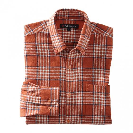 Flanellskjorte i bomull