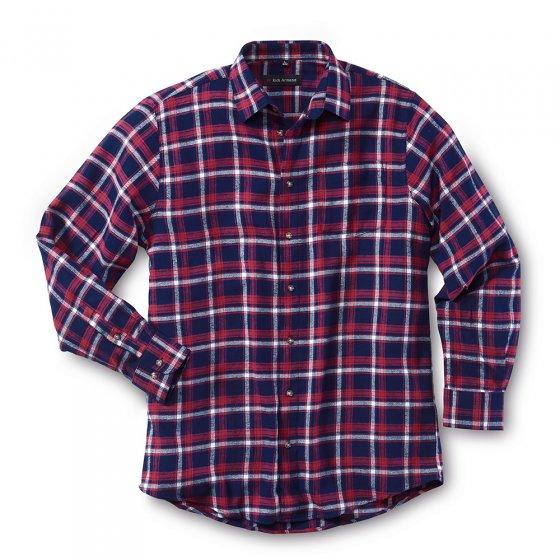 Skjorte i bomullsflanell