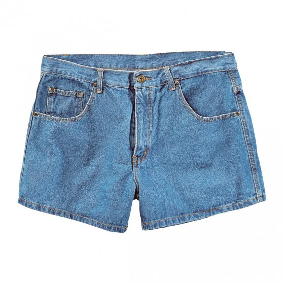 Jeans-shorts for herrer