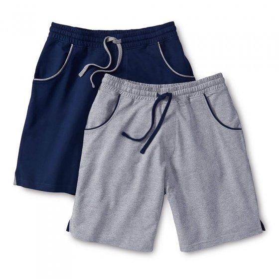 Jerseyshorts 2-pakning